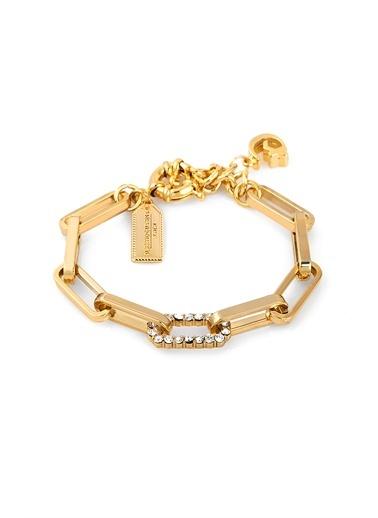 Alberto Guardiani Alberto Guardiani Ag10352Blk Zirkon Taşlı Jewelery Bileklik Altın